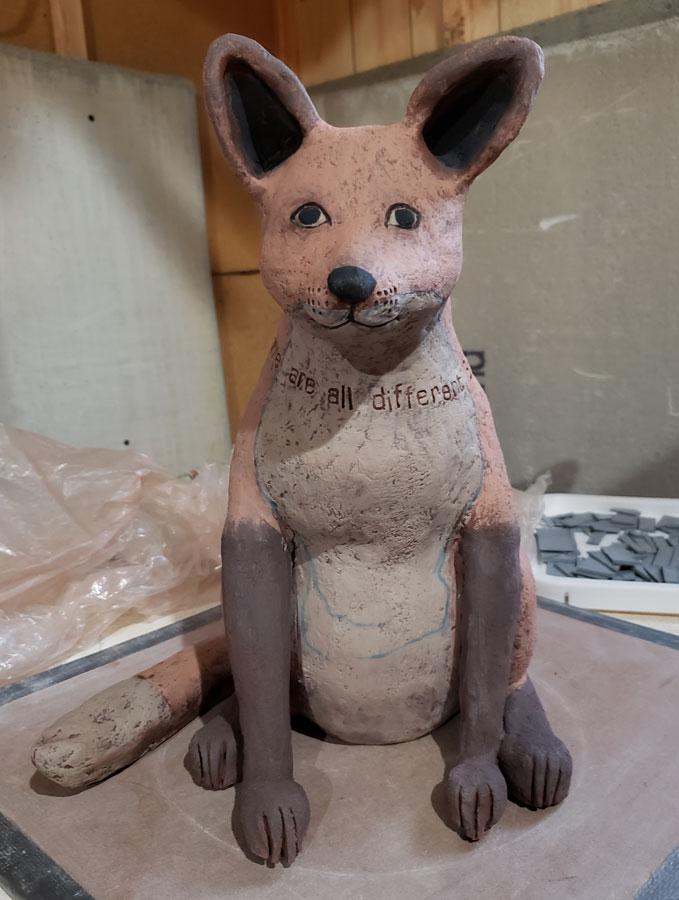 Fox from Lisa Naples Workshop