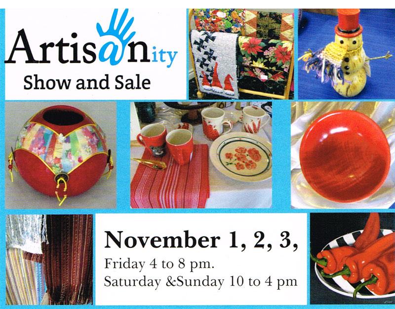 Artisanity Show & Sale